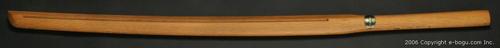3.8尺 樋入り素振用木刀