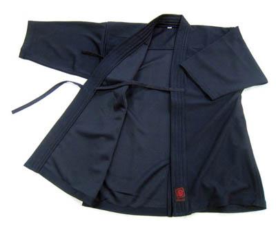 織刺ジャージ剣道衣(紺)